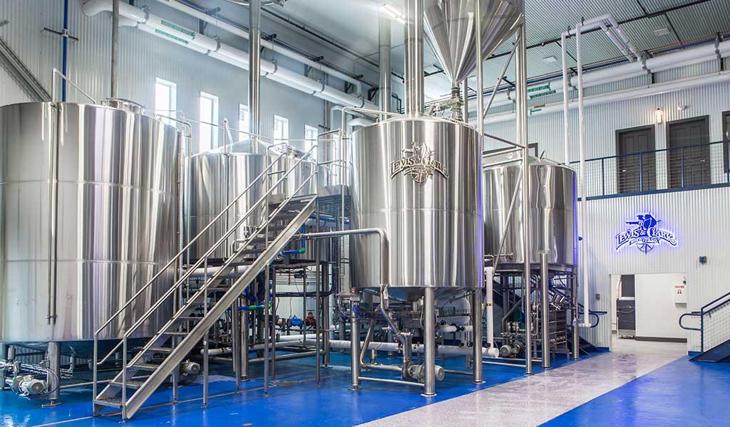 Slot Drain Brewery Lewis Clark